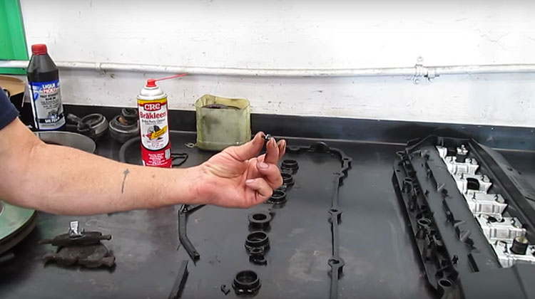 Repairing oil leaks on a 2002 BMW 330 Ci
