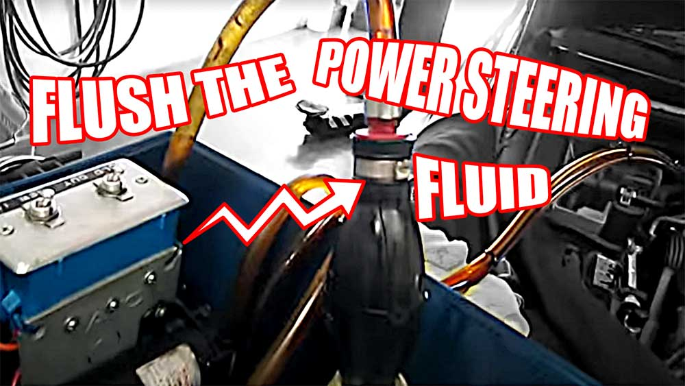 How to Flush the Power Steering Fluid