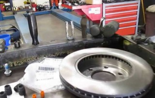 Replacing Front Brake Rotors and Pads on a 2006 Ford F150