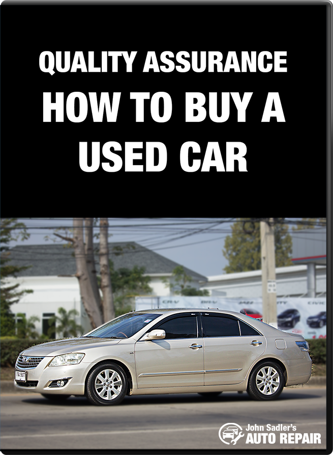 Quality Assurance - How To Buy A Used Car